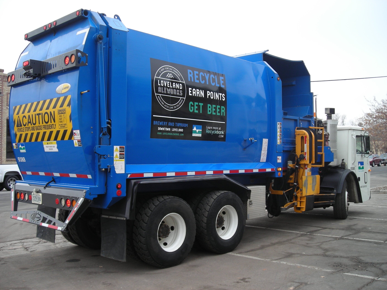 Loveland, Co RecycleBank Truck